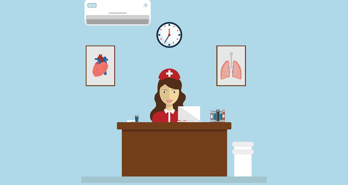 pharma sales rep visits